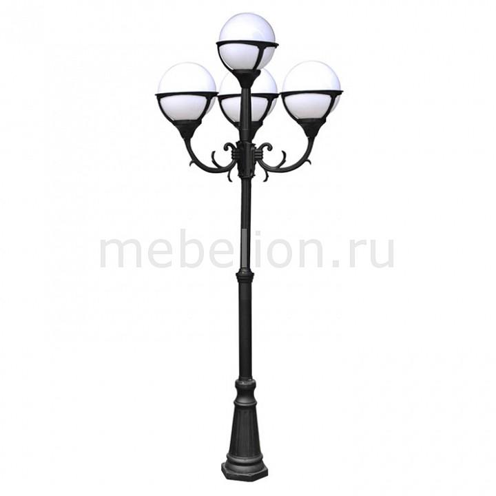 Фонарный столб Arte Lamp A1497PA-4BK Monaco