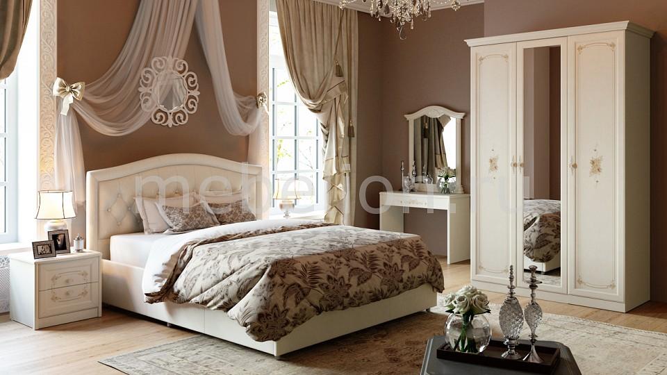 Гарнитур для спальни Лючия ГН-235.004  мягкая форма пуфик