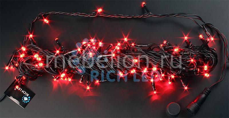 Гирлянда Нить RichLED (10 м) RL-S10C-24V-B/R гирлянда нить richled 10 м rl s10c 24v b g