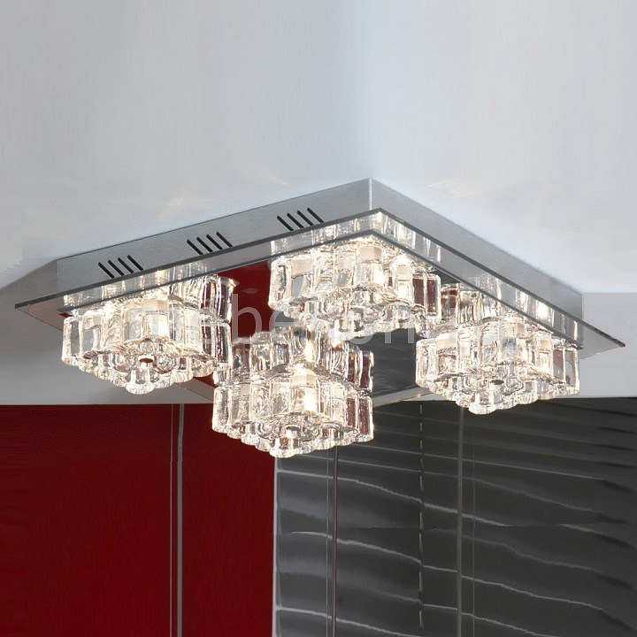 Накладной светильник Lussole Chirignago LSA-0707-16  потолочный светильник lussole chirignago lsa 0703 12