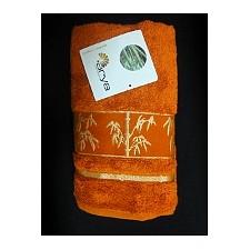 Набор полотенец для ванной Bonita Fakili терракотовый AR_E1004606_1