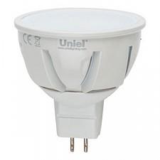 Лампа светодиодная GU5.3 175-265В 5Вт 4500K LED-JCDR-5W/NW/GU5.3/FR ALP01WH