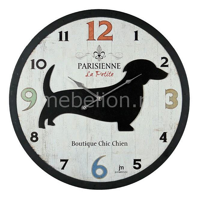 Настенные часы (60 см) Lowell 21435