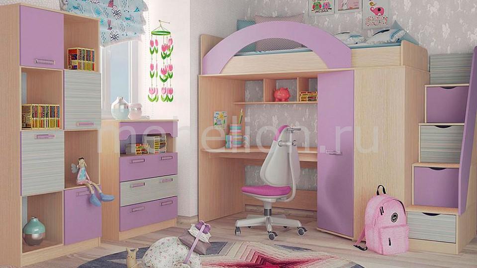 Гарнитур для детской Рико Модерн № 3 ирис