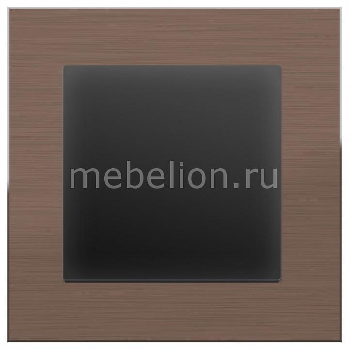 Выключатель одноклавишный Werkel без рамки Aluminium (Черный матовый) WL08-SW-1G-LED+WL08-SW-1G выключатель проходной одноклавишный werkel без рамки aluminium черный матовый wl08 sw 1g 2w led wl08 sw 1g 2w