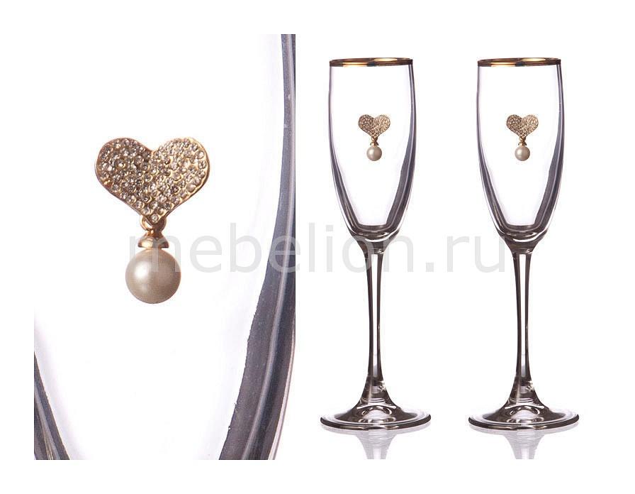 Набор бокалов для шампанского АРТИ-М 802-510-11 полотенце для кухни арти м джинсовое сердце