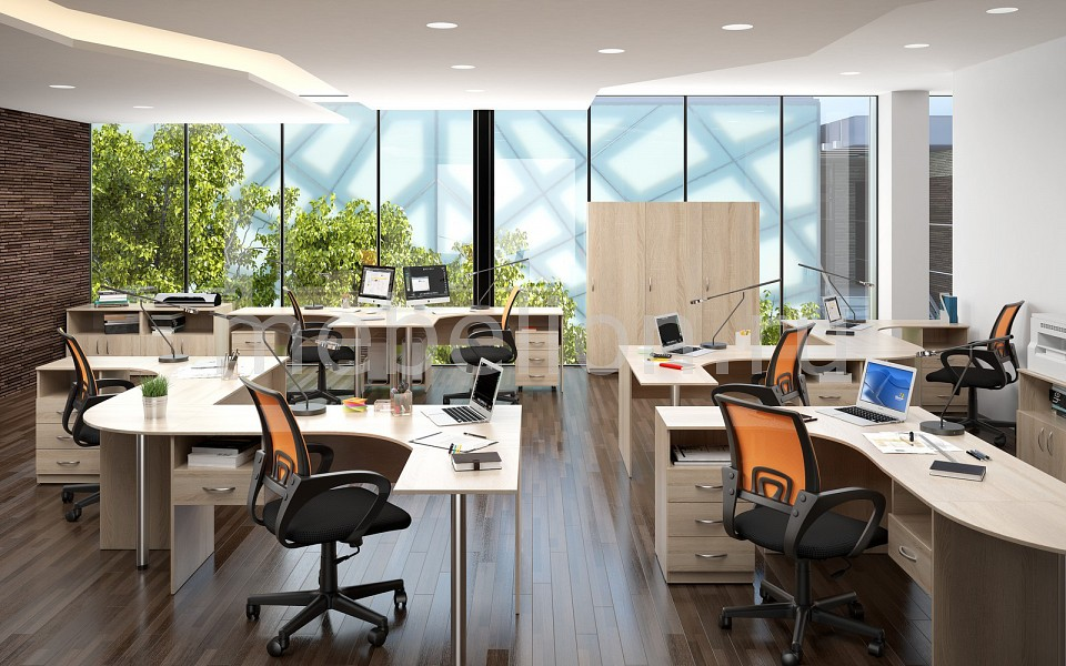 Гарнитур офисный Simple