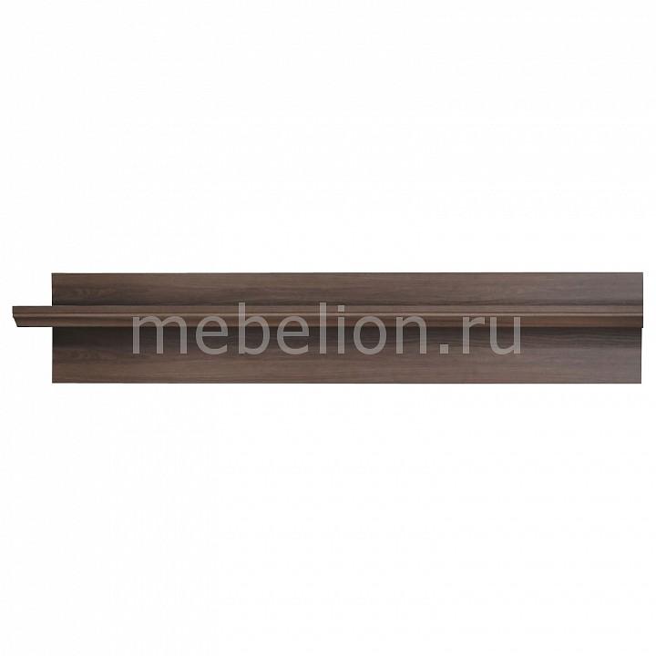 Полка навесная Тифани-10 ясень шимо темный