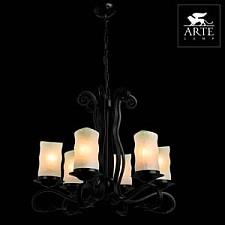 Подвесная люстра Arte Lamp A7915LM-6BK Scroll