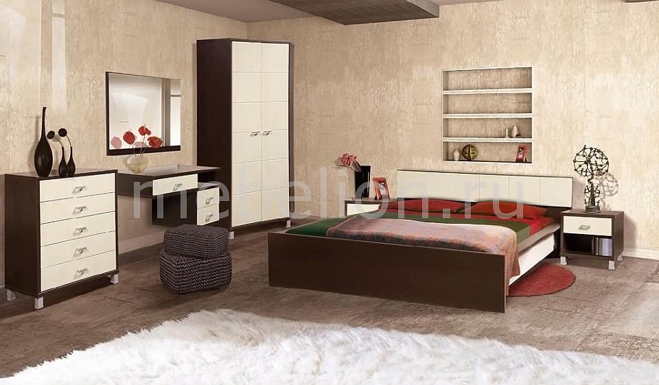 Гарнитур для спальни Домино береза/венге mebelion.ru 0.000