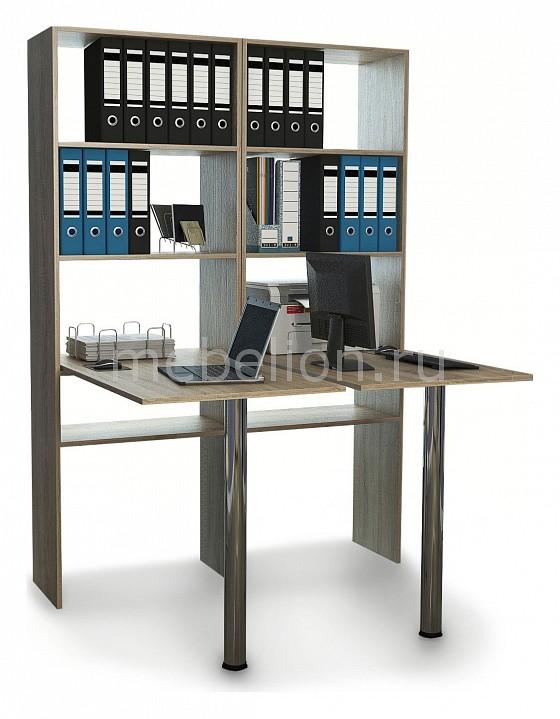 Стол компьютерный МФ Мастер Рикс-4646 мф мастер стол компьютерный рикс 46 дуб сонома хром