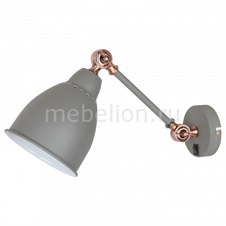 Купить Бра Braccio A2054AP-1GY, Arte Lamp, Италия