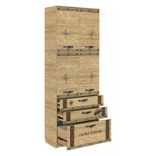 Шкаф для белья Сканд-Мебель