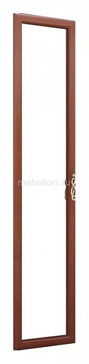 Дверь распашная Александрия 125.001 с зеркалом орех