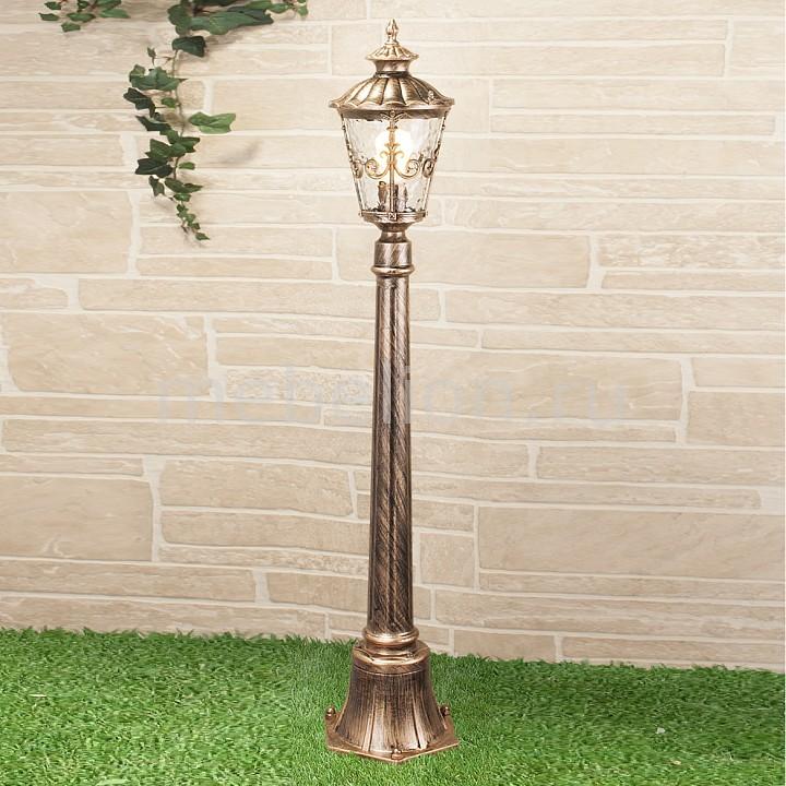 цена на Наземный высокий светильник Elektrostandard Diadema F (GLYF-8046F) черное золото