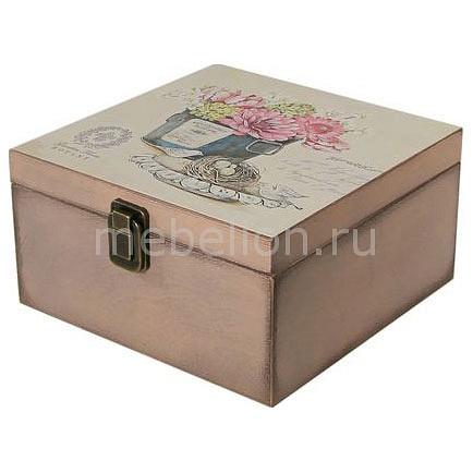 Шкатулка декоративная (24х24х13 см) Прованс 1012-8