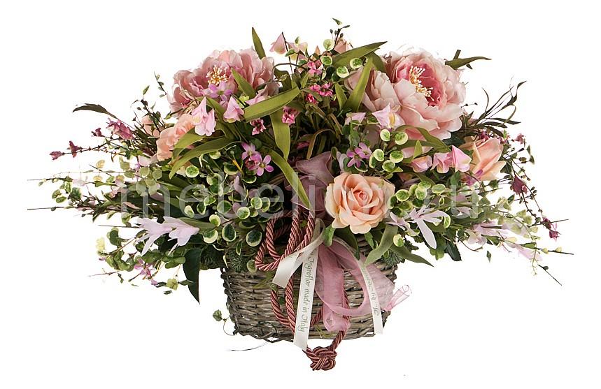 Растение в горшке (60х40 см) Розы-ART 309-516