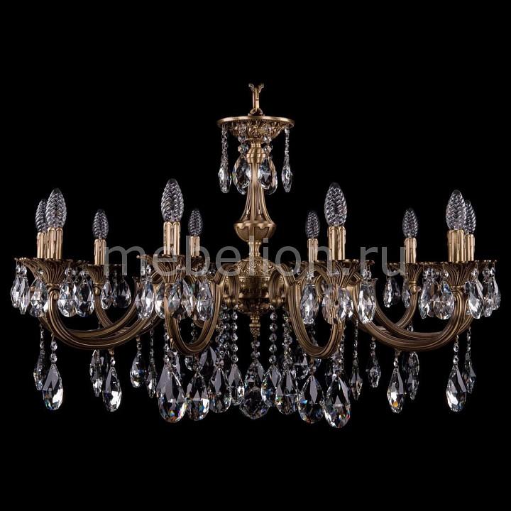 Подвесная люстра Bohemia Ivele Crystal 1702/10/335/A/FP 1702
