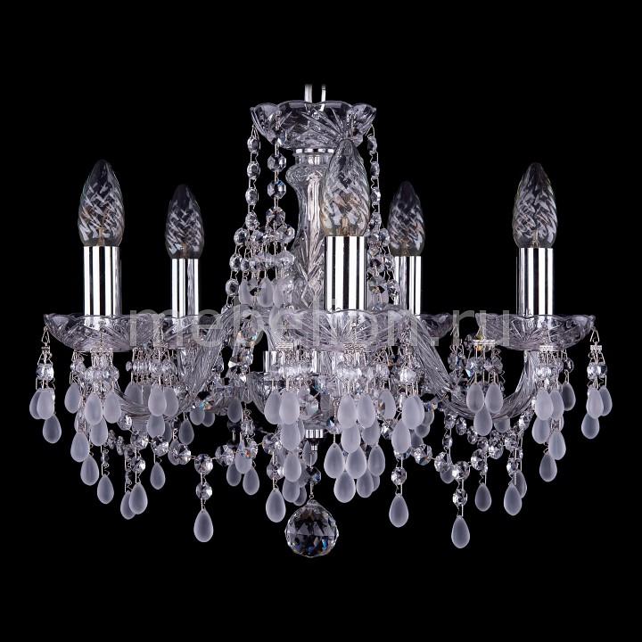 Подвесная люстра Bohemia Ivele Crystal 1410/5/141/Ni/V0300 bohemia ivele crystal 1410 6 160 ni v0300 sh2