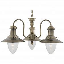 Подвесная люстра Arte Lamp A5518LM-3AB Fisherman