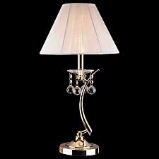Настольная лампа Eurosvet декоративная 1087/1 золото/белый Strotskis