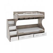 Кровать двухъярусная Прованс СМ-223.11.001