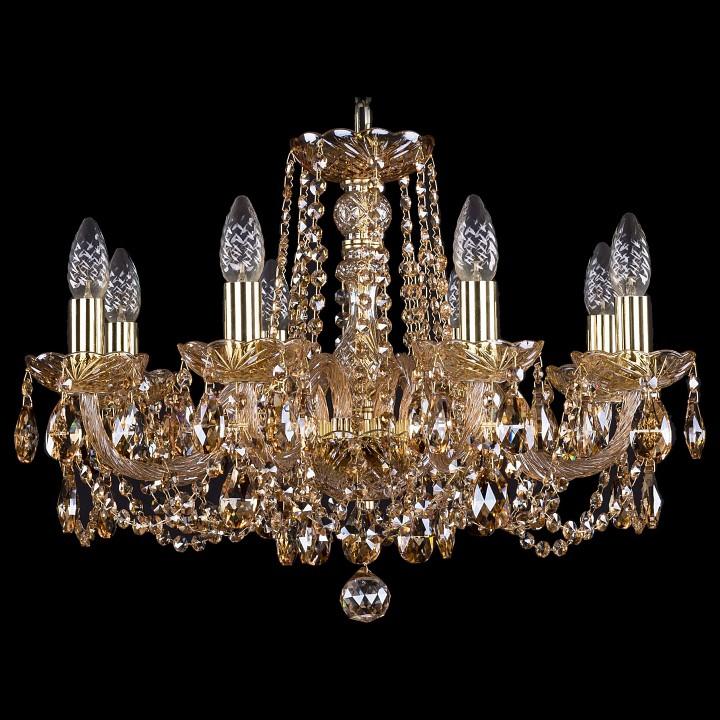 Подвесная люстра Bohemia Ivele Crystal 1402/8/195/G/M721 1402