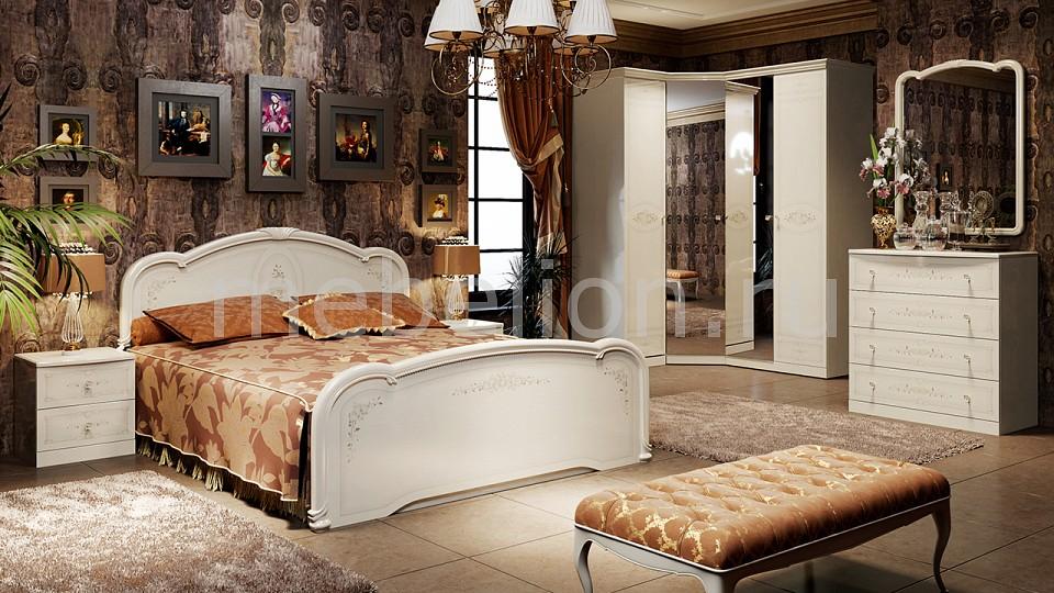 Гарнитур для спальни ТриЯ Лорена ГН-254.002 гарнитур для спальни трия лорена гн 254 000