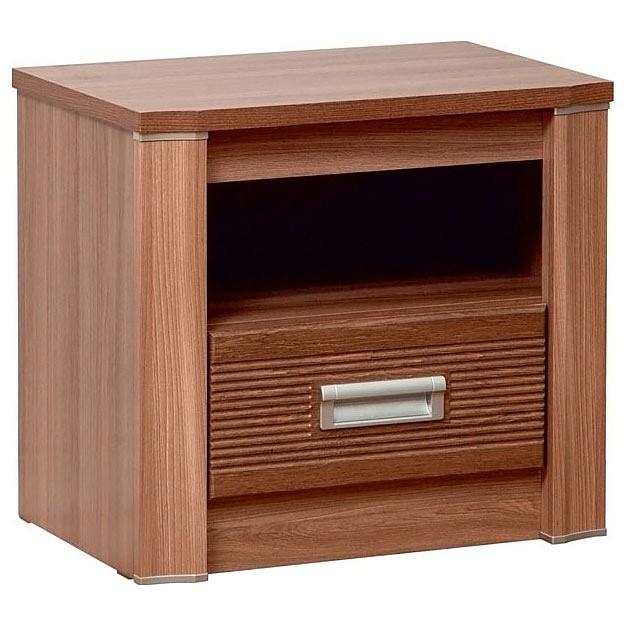 Тумбочка Олимп-мебель Стелла 06.237 ясень шимо темный