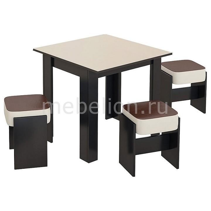 Набор кухонный Мебель Трия Кантри -мини МФ-105.037 обеденный стол трия кантри венге венге