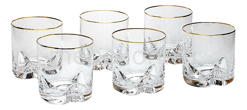 Набор для виски из 6 шт. Трио 674-133