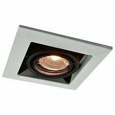 Встраиваемый светильник Arte Lamp A5941PL-1WH Technika
