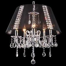 Подвесной светильник Eurosvet 3419/5 хром/черный Strotskis 3419