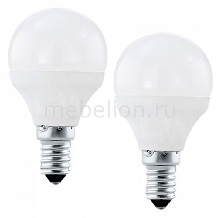 Купить Комплект из 2 ламп светодиодных Valuepack E27 4000K 220-240В 4Вт 10776, Eglo, Австрия