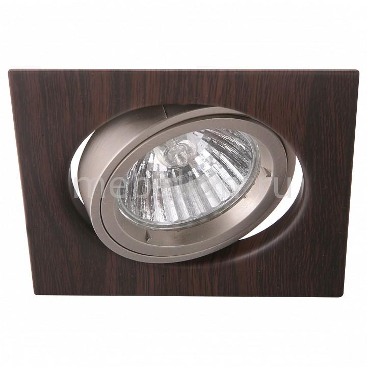 Комплект из 3 встраиваемых светильников Arte Lamp A2206PL-3BR Wood