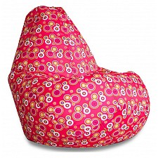 Кресло-мешок Пузырьки красные I