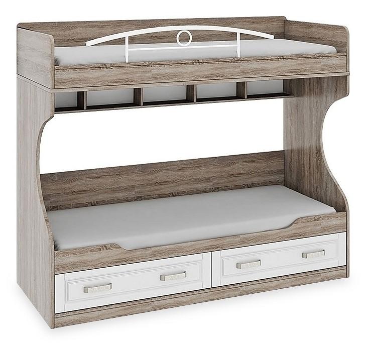Кровать двухъярусная Прованс ТД-223.11.01