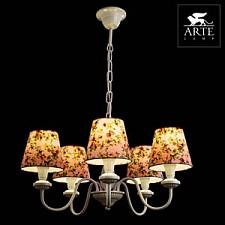 Подвесная люстра Arte Lamp A9212LM-5WH Provence