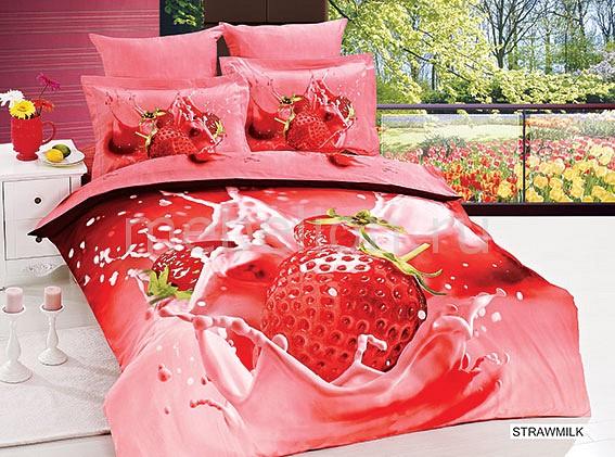 Комплект полутораспальный Arya Сатин Печатное 3D Strawmilk F9708500