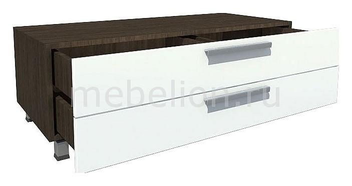 Тумба Фортуна Т3-22 зебра вуд/белый mebelion.ru 10563.000