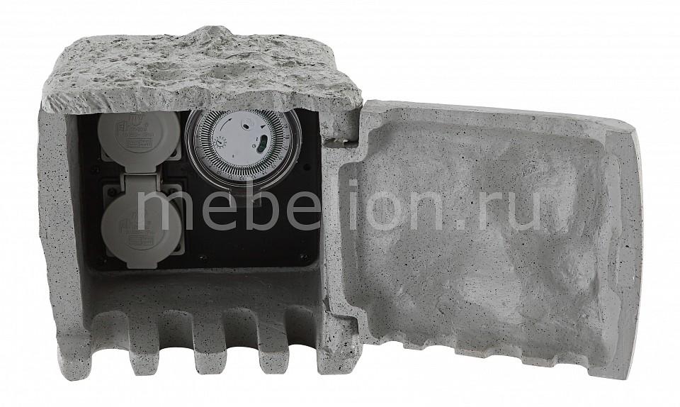Блок розеток наземный Globo Pietra 1 37001-2Z розетка уличная с таймером globo pietra i 37004 4
