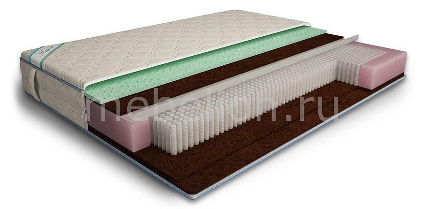 Матрас полутораспальный Дрема Микропакет Латекс Aloe Мидл Эконом 1950х1200 матрас полутораспальный дрема микропакет мидл эконом 1950х1200