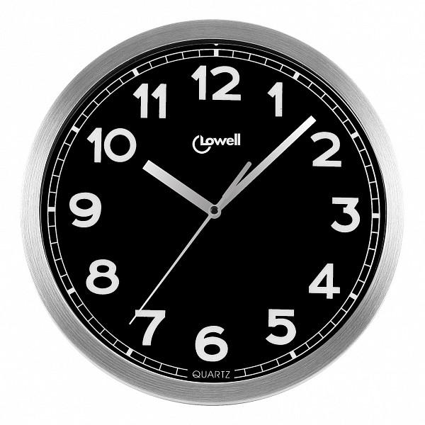 Настенные часы Lowell(30 см) Lowell 14928NАртикул - ANK_14928N,Бренд - Lowell (Италия),Страна производителя - Италия,Серия - Lowell 14928N,Время изготовления, дней - 1,Диаметр, мм - 300,Материал - алюминий, стекло,Цвет - серебряный, черный,Тип поверхности - матовый,Необходимые компоненты - 1 батарейка АА,Дополнительные параметры - кварцевый механизм Young Town<br><br>Артикул: ANK_14928N<br>Бренд: Lowell (Италия)<br>Страна производителя: Италия<br>Серия: Lowell 14928N<br>Время изготовления, дней: 1<br>Диаметр, мм: 300<br>Материал: алюминий, стекло<br>Цвет: серебряный, черный<br>Тип поверхности: матовый<br>Необходимые компоненты: 1 батарейка АА<br>Дополнительные параметры: кварцевый механизм Young Town