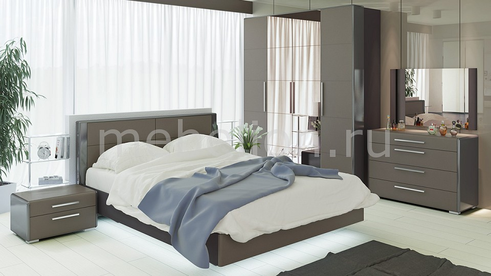 Гарнитур для спальни ТриЯ Наоми ГН-208.002 гарнитур для спальни мебель трия лорена гн 254 003