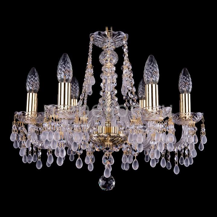 Подвесная люстра Bohemia Ivele Crystal 1410/6/160/G/0300 1410