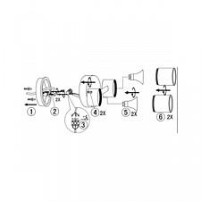 Светильник на штанге Globo 32071-2 Style