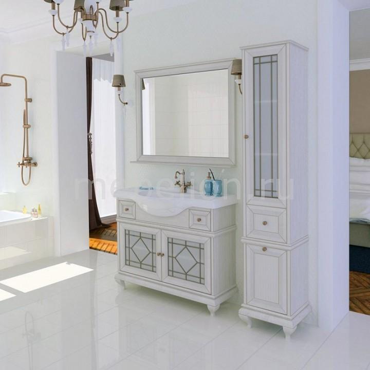 Гарнитур для ванной Акватон Акватон Беатриче 105 пенал для ванной aquaton беатриче 1a187403bem6r правый слоновая кость патина
