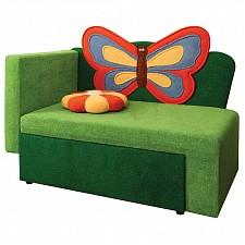 Диван-кровать Соната М11-8 Бабочка 8041127 зеленый