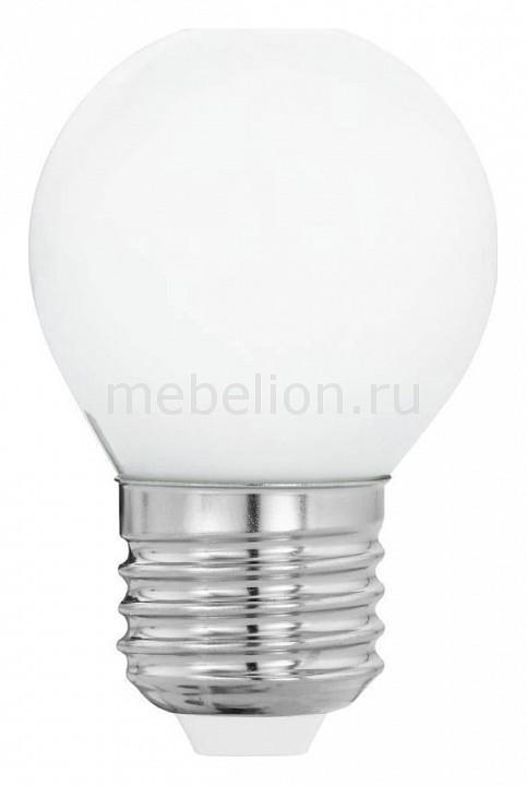 Лампа светодиодная Eglo Милки E27 4Вт 2700K 11605 лампа светодиодная eglo g95 e27 4вт 2700k 11502