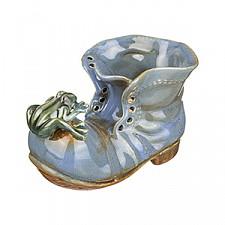 Кашпо АРТИ-М (14х8х9 см) Ботинок 180-342